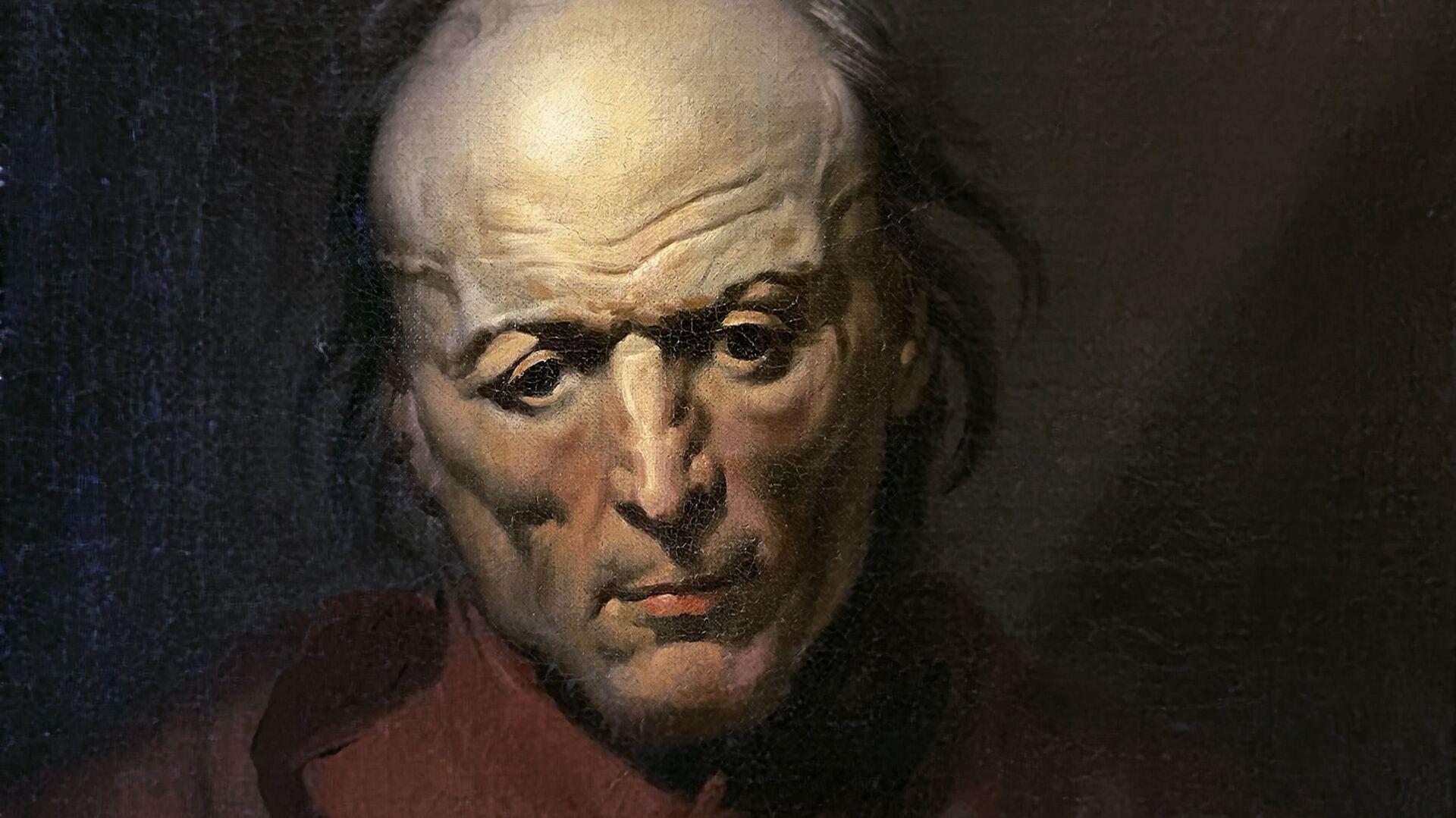 El cuadro de Géricault 'El hombre melancólico' ha sido encontrado por un español dos siglos después de que se pintara - Sputnik Mundo, 1920, 27.01.2021