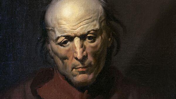 El cuadro de Géricault 'El hombre melancólico' ha sido encontrado por un español dos siglos después de que se pintara - Sputnik Mundo
