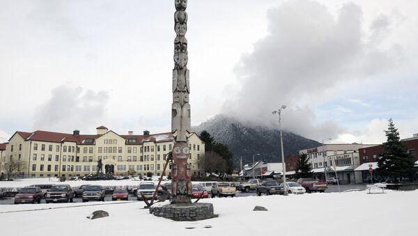 La ciudad de Sitka, Alaska - Sputnik Mundo