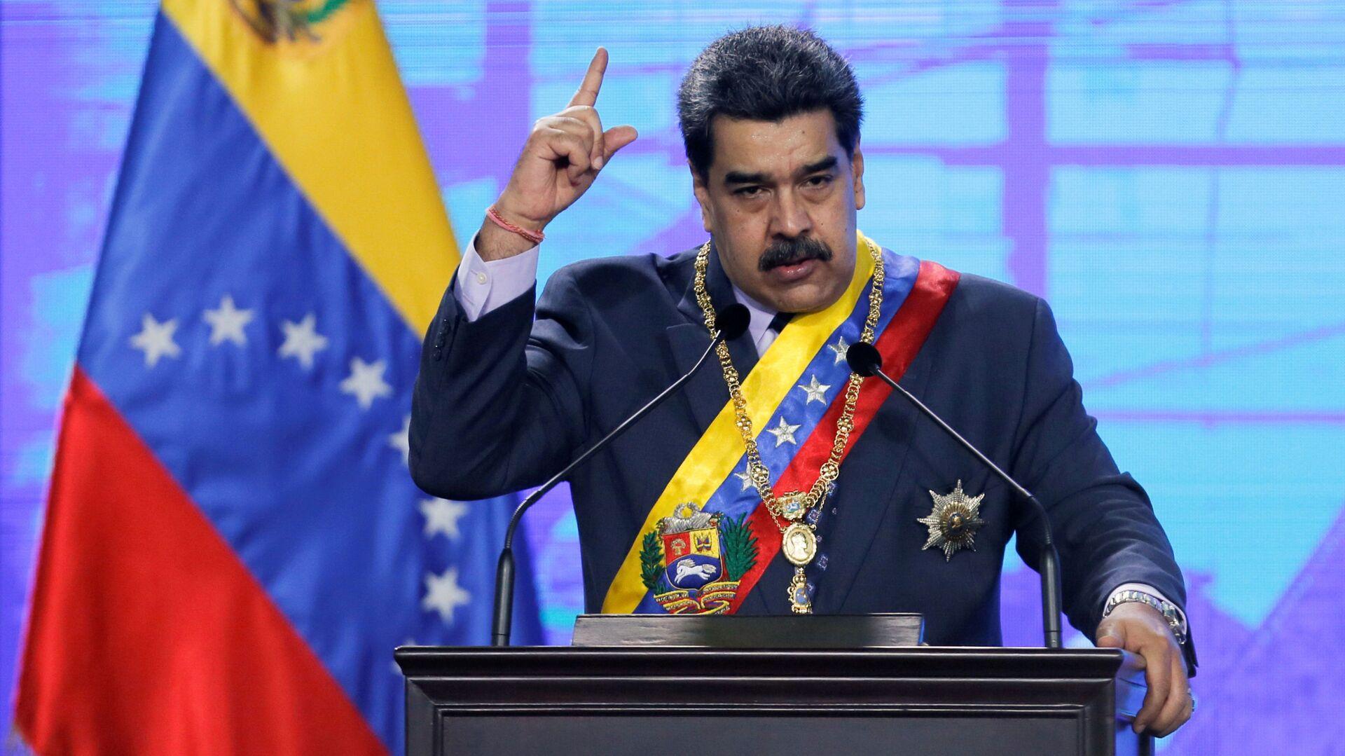 Nicolás Maduro, presidente de Venezuela - Sputnik Mundo, 1920, 22.02.2021