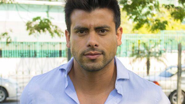 Efraín Ruales, presentador de televisión ecuatoriano - Sputnik Mundo