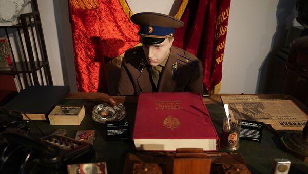 Algunos de los artículos expuestos en el Museo del Espionaje de la KGB en Nueva York (archivo) - Sputnik Mundo