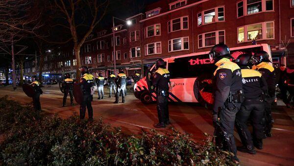 Policía de los Países Bajos - Sputnik Mundo
