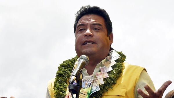 Luis Revilla, alcalde de La Paz, Bolivia - Sputnik Mundo