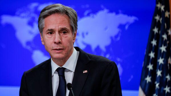 Antony Blinken, secretario de Estado de EEUU - Sputnik Mundo