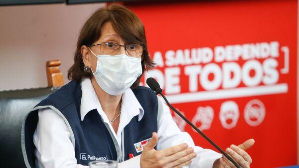 Pilar Mazzetti, ministra de Salud de Perú - Sputnik Mundo