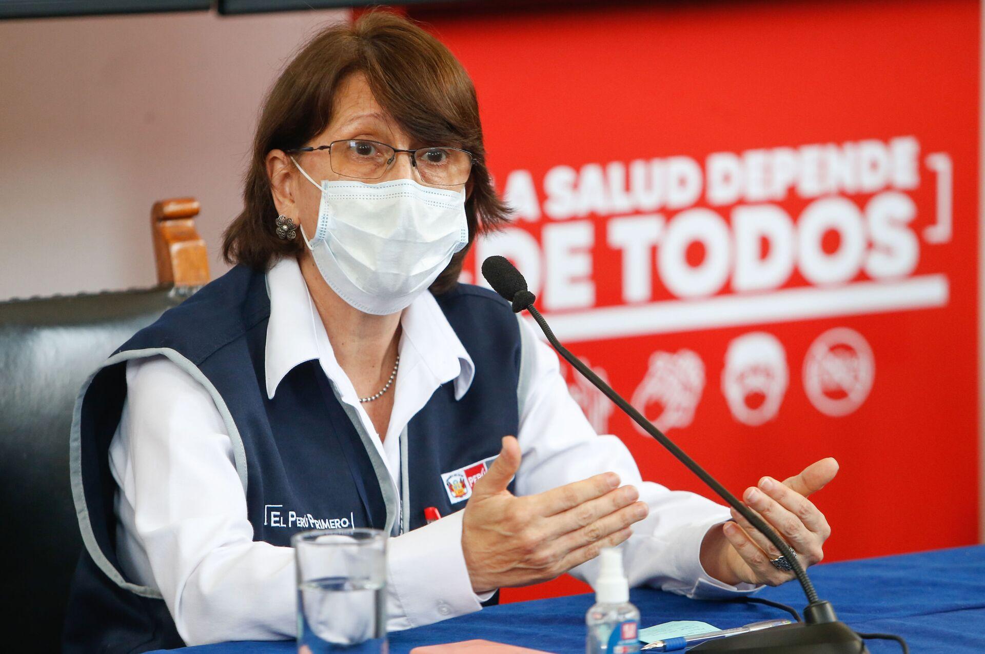 Pilar Mazzetti, ministra de Salud de Perú - Sputnik Mundo, 1920, 23.02.2021