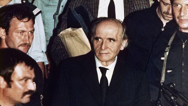Klaus Barbie, el 'Carnicero de Lyon', oficial de la SS y la Gestapo - Sputnik Mundo