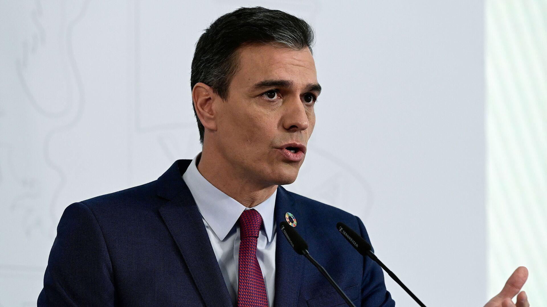 Pedro Sánchez, presidente del Gobierno de España - Sputnik Mundo, 1920, 24.05.2021
