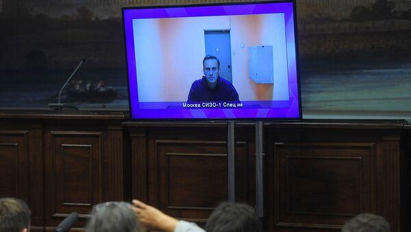 El bloguero opositor ruso, Alexéi Navalni - Sputnik Mundo
