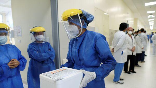Un hospital en Ecuador (imagen referencial) - Sputnik Mundo