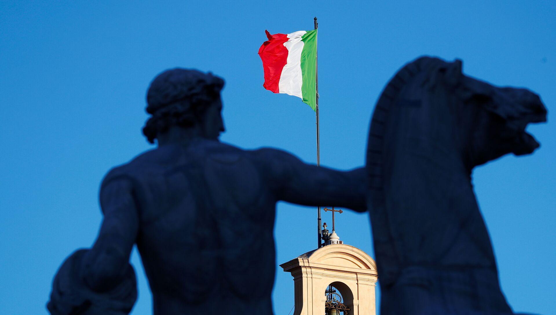 Bandera de Italia - Sputnik Mundo, 1920, 01.02.2021