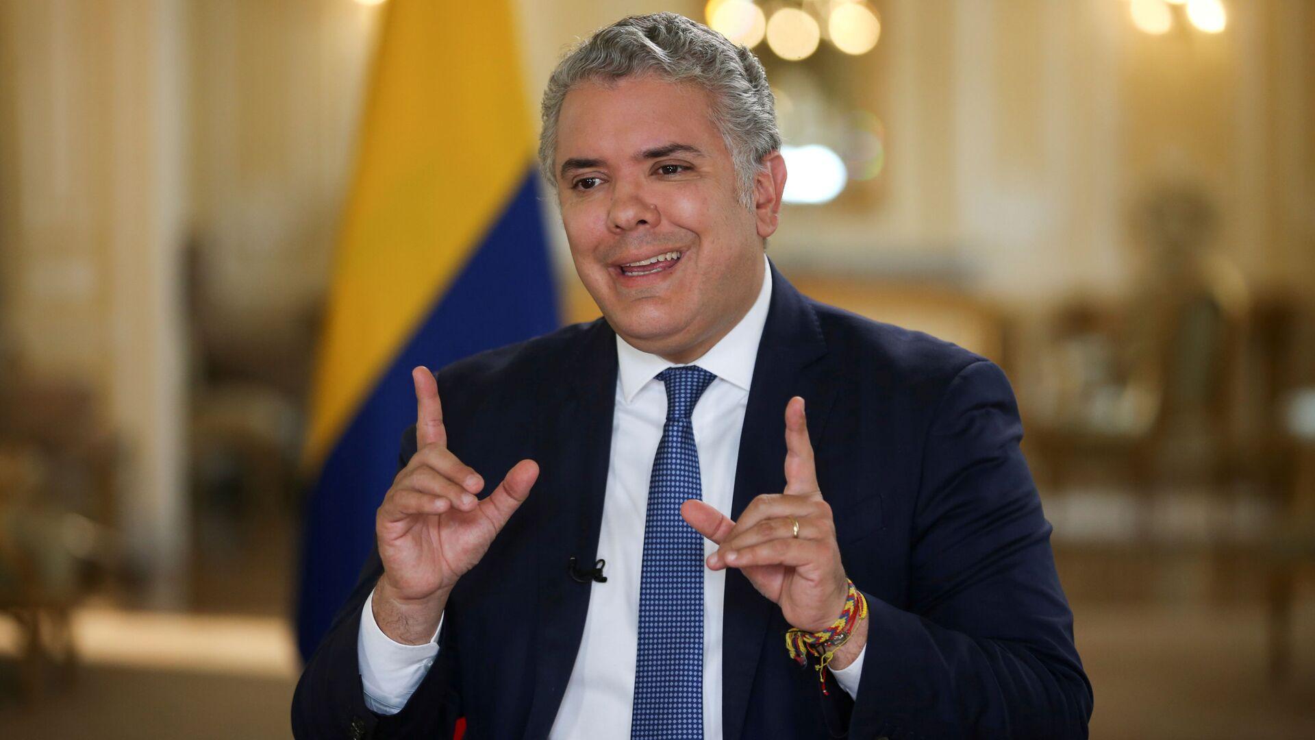 Iván Duque, presidente de Colombia - Sputnik Mundo, 1920, 02.05.2021