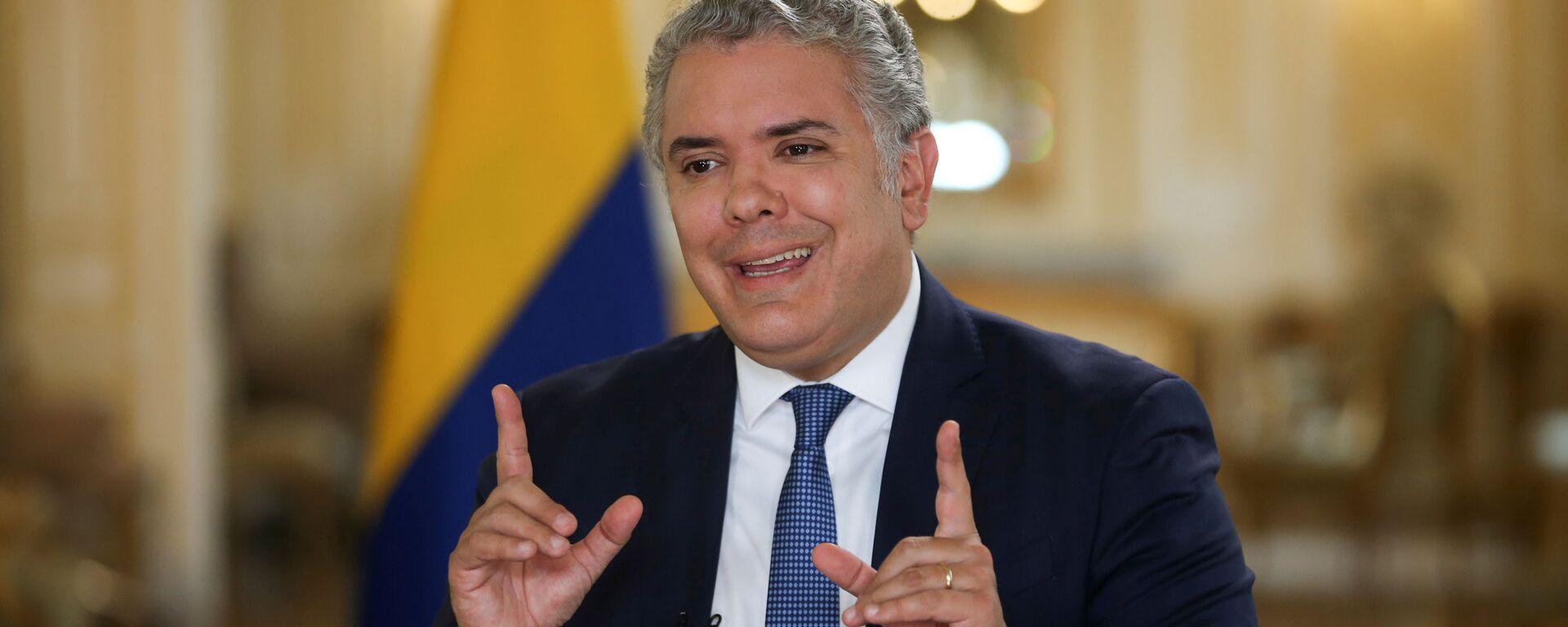 Iván Duque, presidente de Colombia - Sputnik Mundo, 1920, 10.07.2021