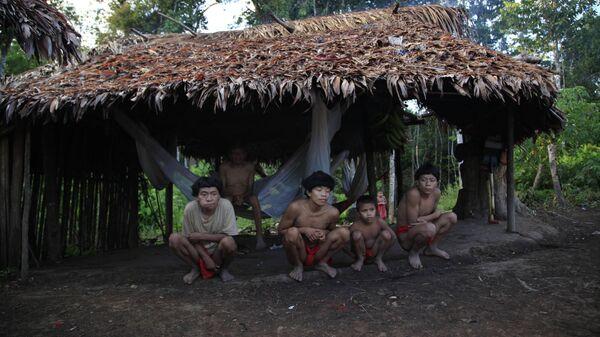 Indígenas Yanomami - Sputnik Mundo