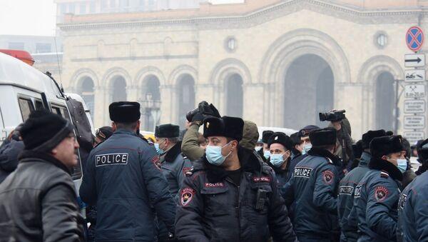 Protestas en Ereván, Armenia - Sputnik Mundo