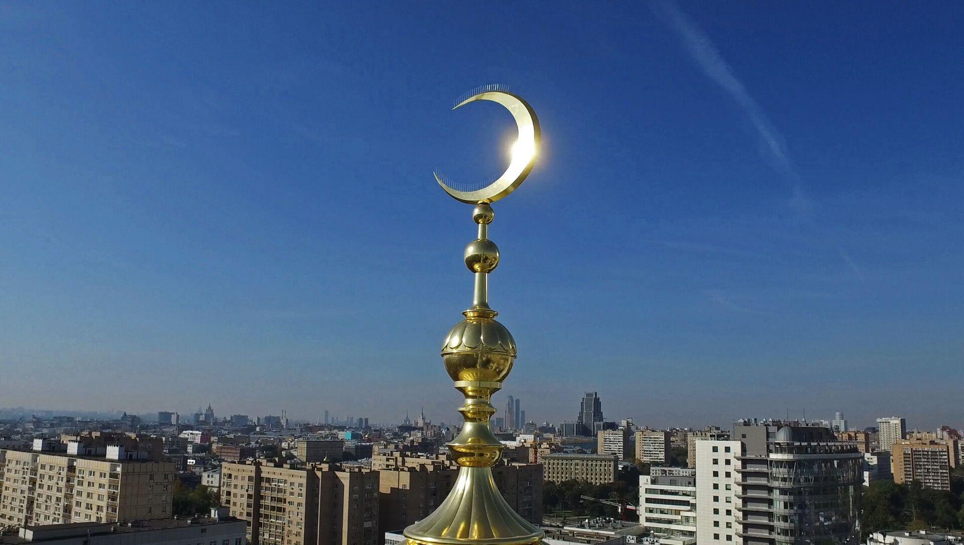 Cúpula de la Mezquita Catedral de Moscú - Sputnik Mundo, 1920, 08.02.2021