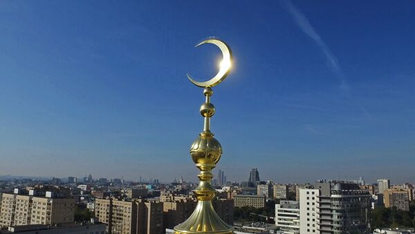 Cúpula de la Mezquita Catedral de Moscú - Sputnik Mundo