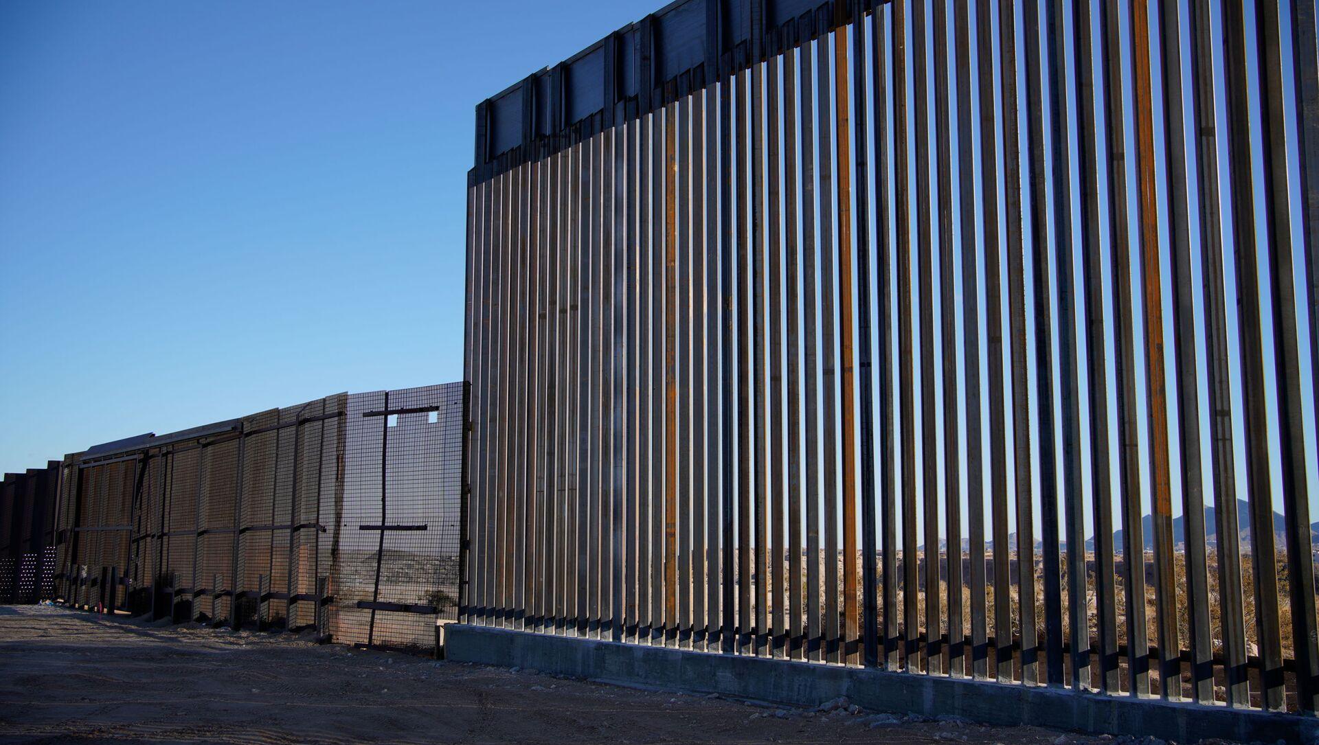 Construcción del muro entre México y EEUU - Sputnik Mundo, 1920, 29.01.2021