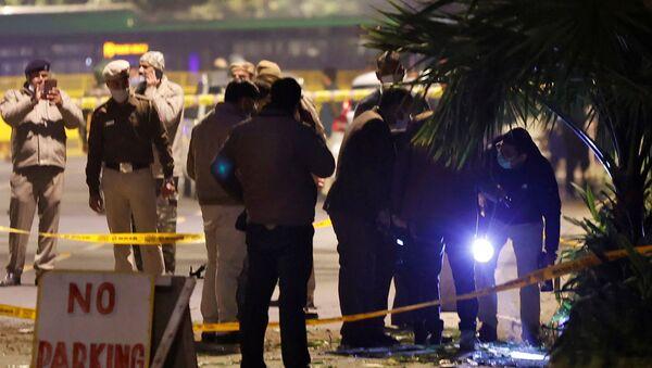 Una bomba estallada cerca de la Embajada israelí en Nueva Delhi - Sputnik Mundo