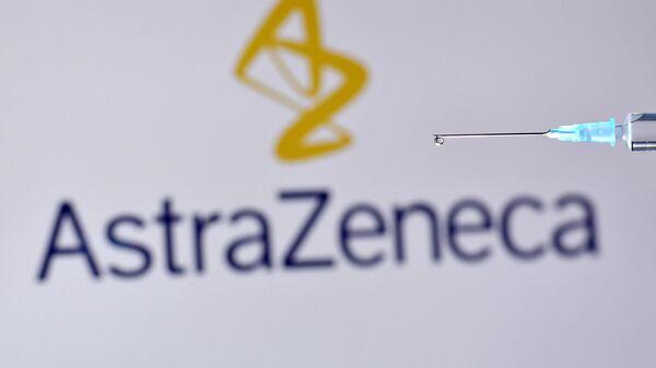 El logo de AstraZeneca - Sputnik Mundo