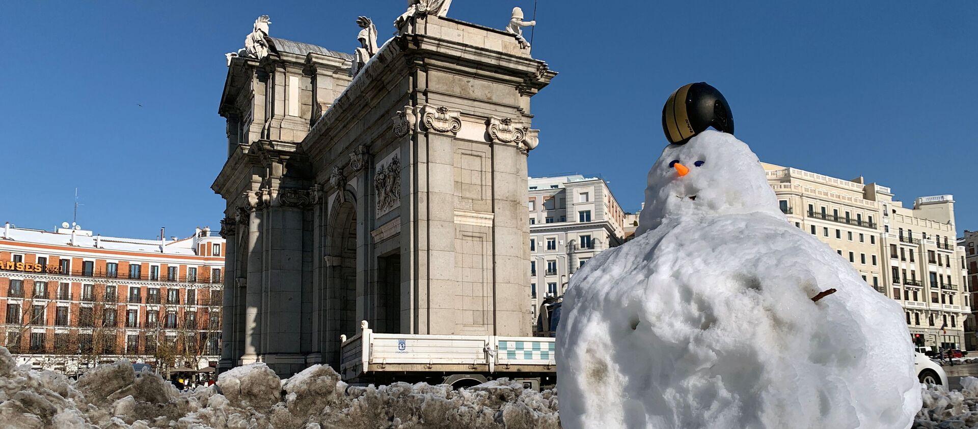 La ola de frío en España - Sputnik Mundo, 1920, 29.01.2021