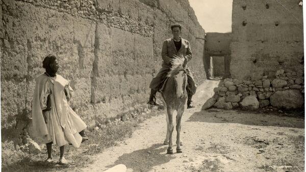 Chaves en una foto del reportero gráfico Contreras durante su viaje a Sidi Ifni para Ahora, abril-mayo 1934. - Sputnik Mundo