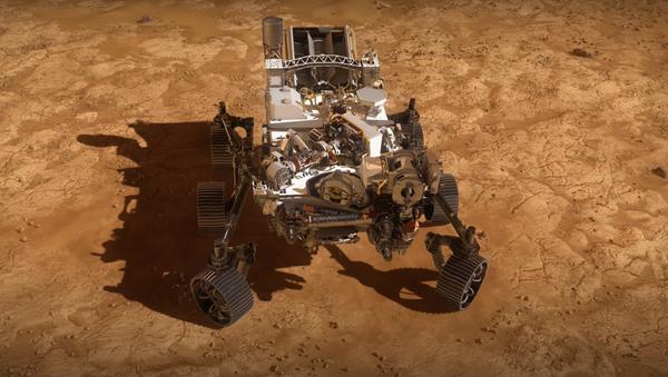 El rover marciano Perseverance - Sputnik Mundo