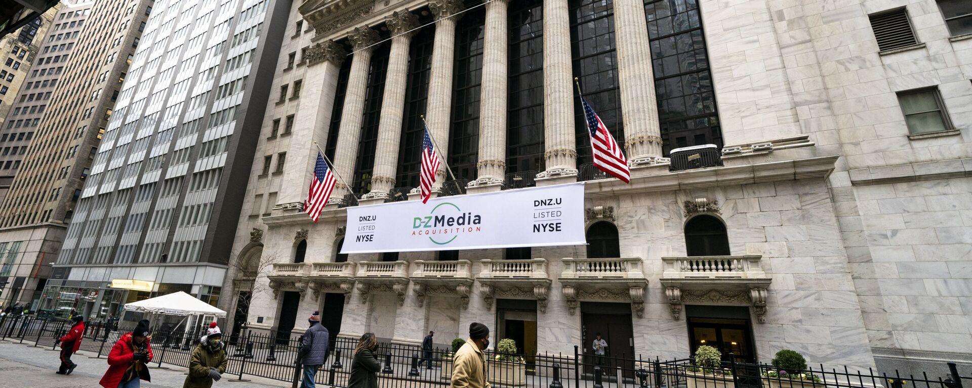 La bolsa de valores en Wall Street (Nueva York) - Sputnik Mundo, 1920, 19.07.2021