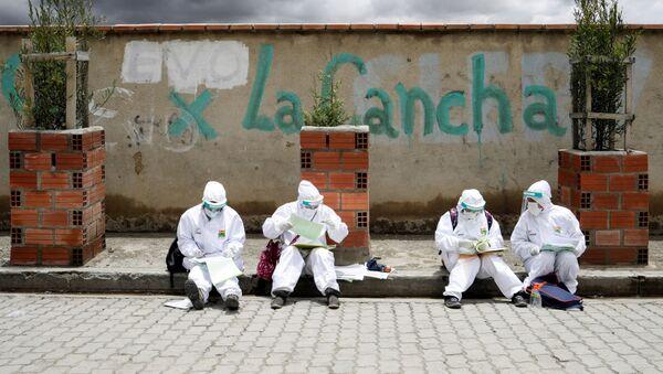 Coronavirus en El Alto, Bolivia  - Sputnik Mundo