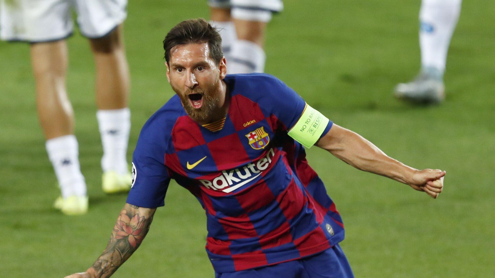 Leo Messi, futbolista argentino - Sputnik Mundo, 1920, 05.08.2021