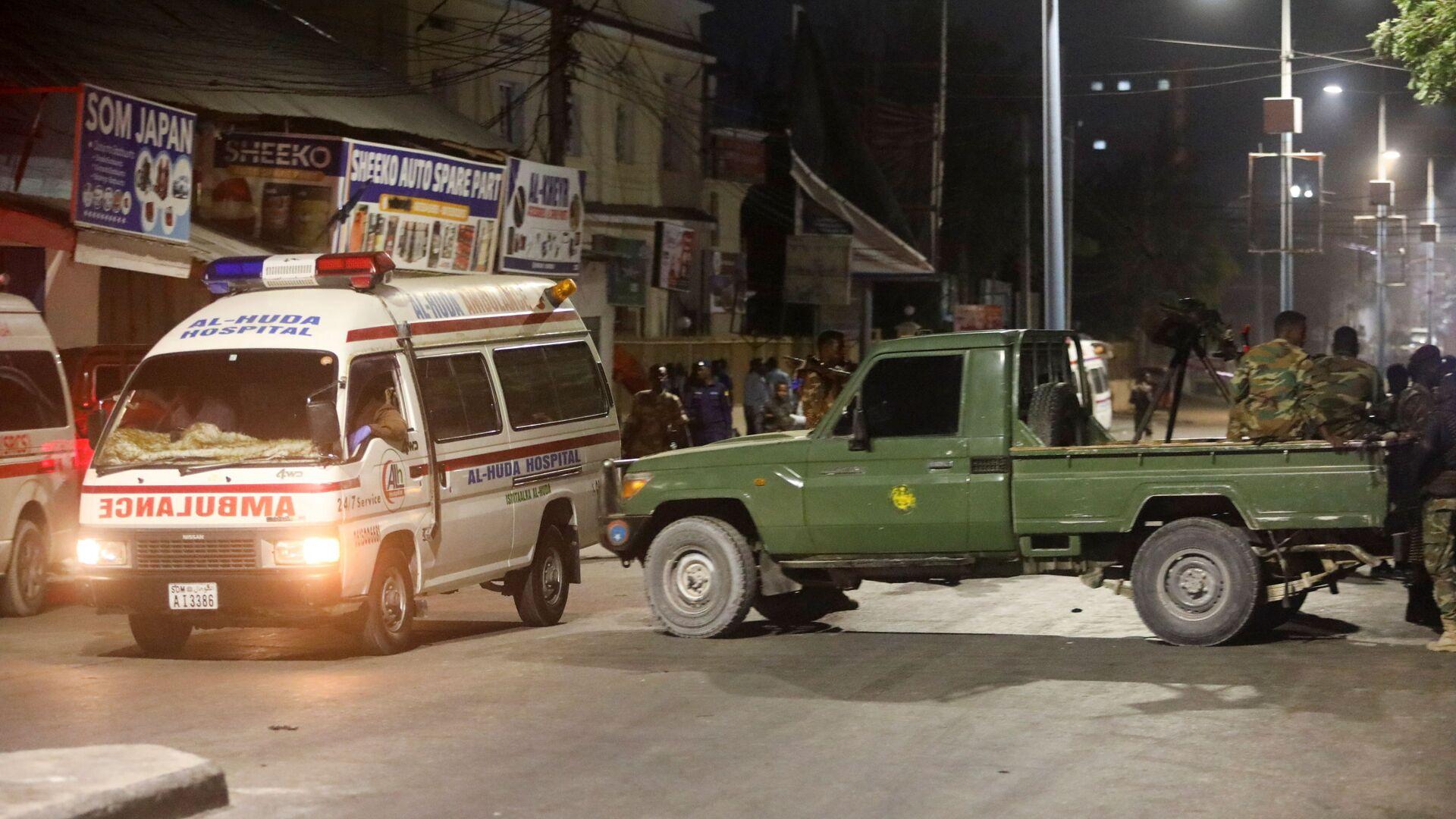 La explosión en la capital de Somalia, Mogadiscio - Sputnik Mundo, 1920, 05.03.2021