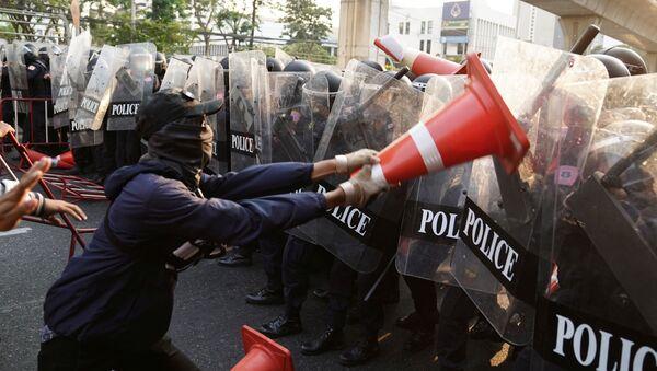 Protestas en Birmania - Sputnik Mundo