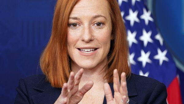 Jen Psaki, portavoz de la Casa Blanca - Sputnik Mundo