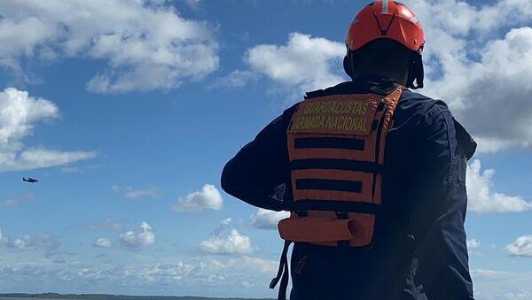 Armada nacional colombiana en el rescate del mar Pacífico - Sputnik Mundo