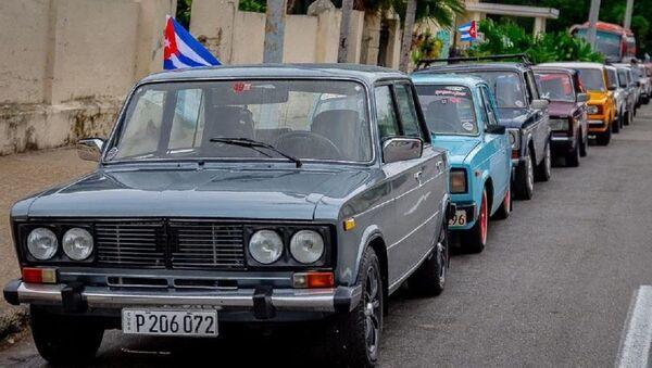 Autos soviéticos populares en Cuba - Sputnik Mundo