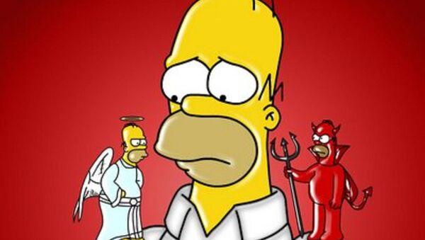 Homero Simpson - Sputnik Mundo
