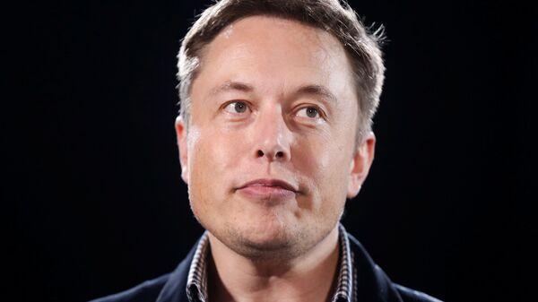 Elon Musk, director general de Tesla y SpaceX - Sputnik Mundo