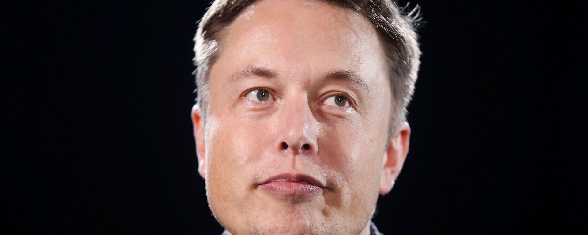 Elon Musk, director general de Tesla y SpaceX - Sputnik Mundo, 1920, 15.06.2021