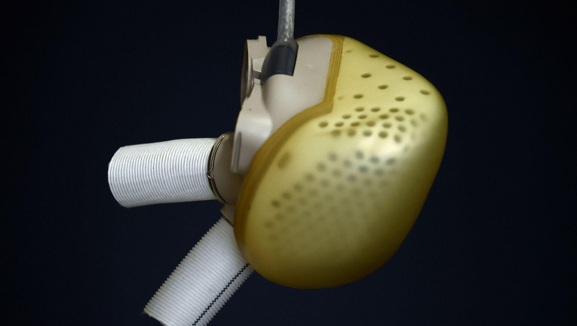 El corazón artificial total (TAH) desarrollado por la compañía francesa Carmat - Sputnik Mundo, 1920, 02.02.2021