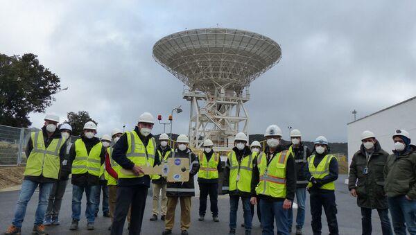 Inauguración antena DSS-56 de 34 metros - Sputnik Mundo