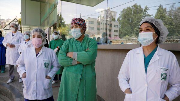 Médicos bolivianos - Sputnik Mundo