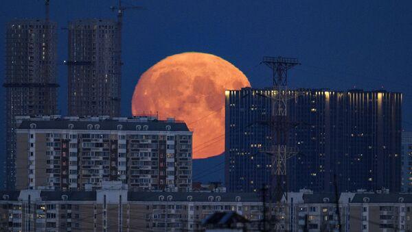 La Luna vista desde Moscú - Sputnik Mundo
