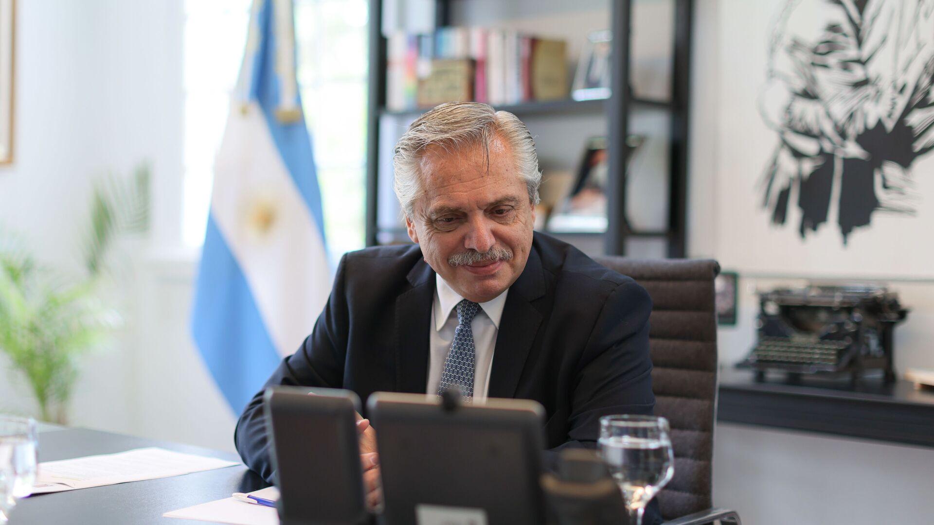 Alberto Fernández, presidente de Argentina - Sputnik Mundo, 1920, 27.03.2021