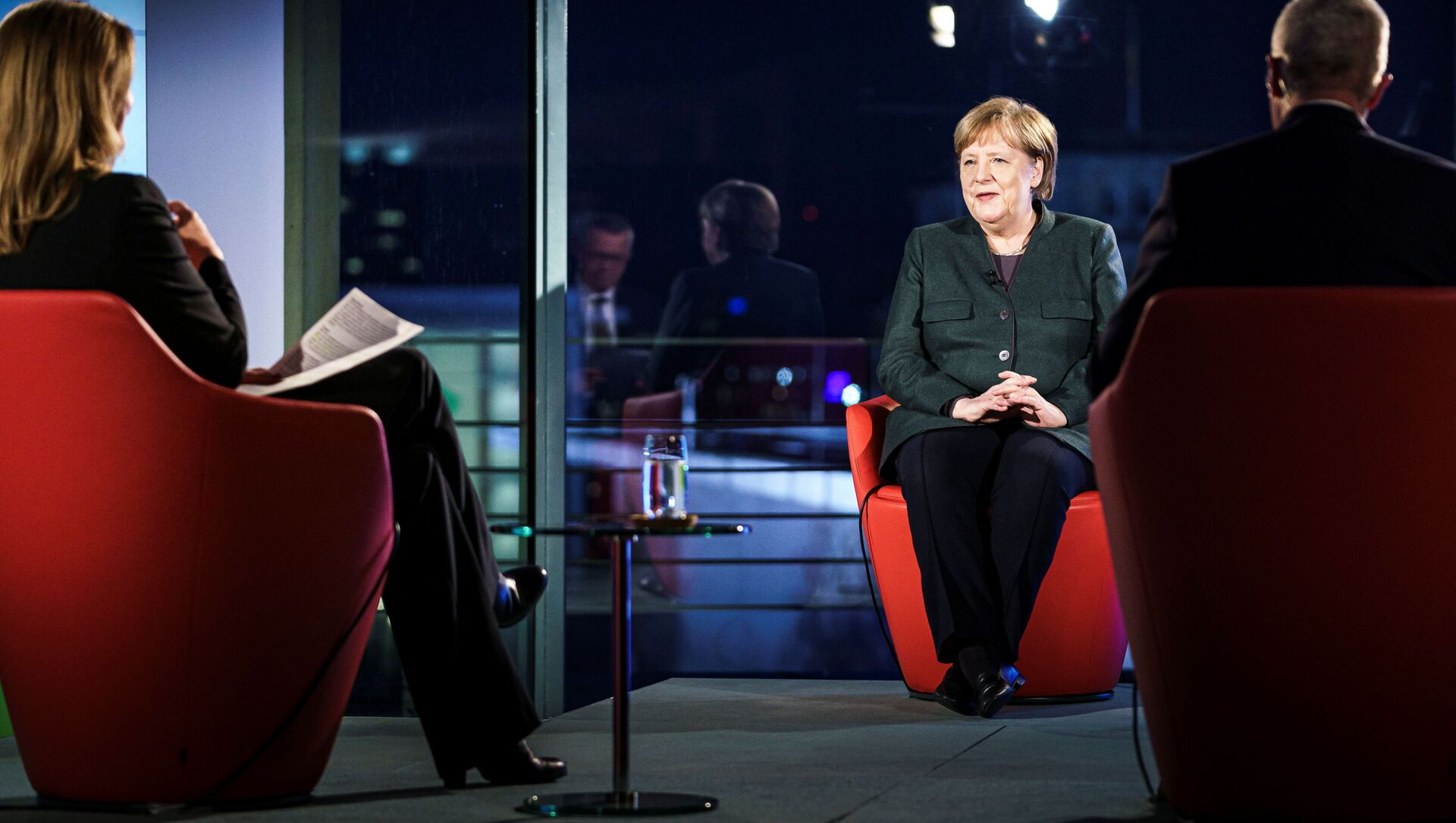 Angela Merkel, canciller alemana - Sputnik Mundo, 1920, 02.02.2021