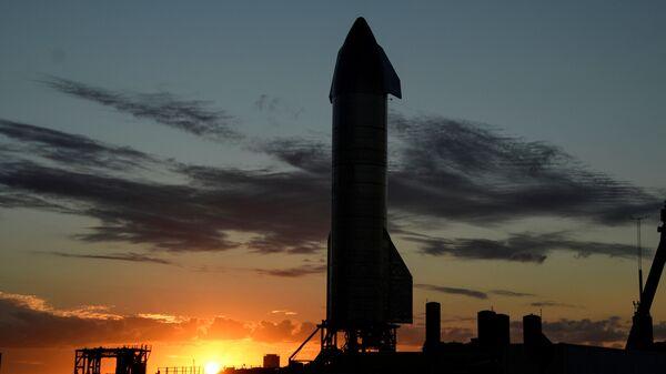 Cohete Starship SN9 de SpaceX - Sputnik Mundo