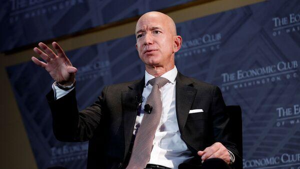 Jeff Bezos, empresario estadounidense - Sputnik Mundo