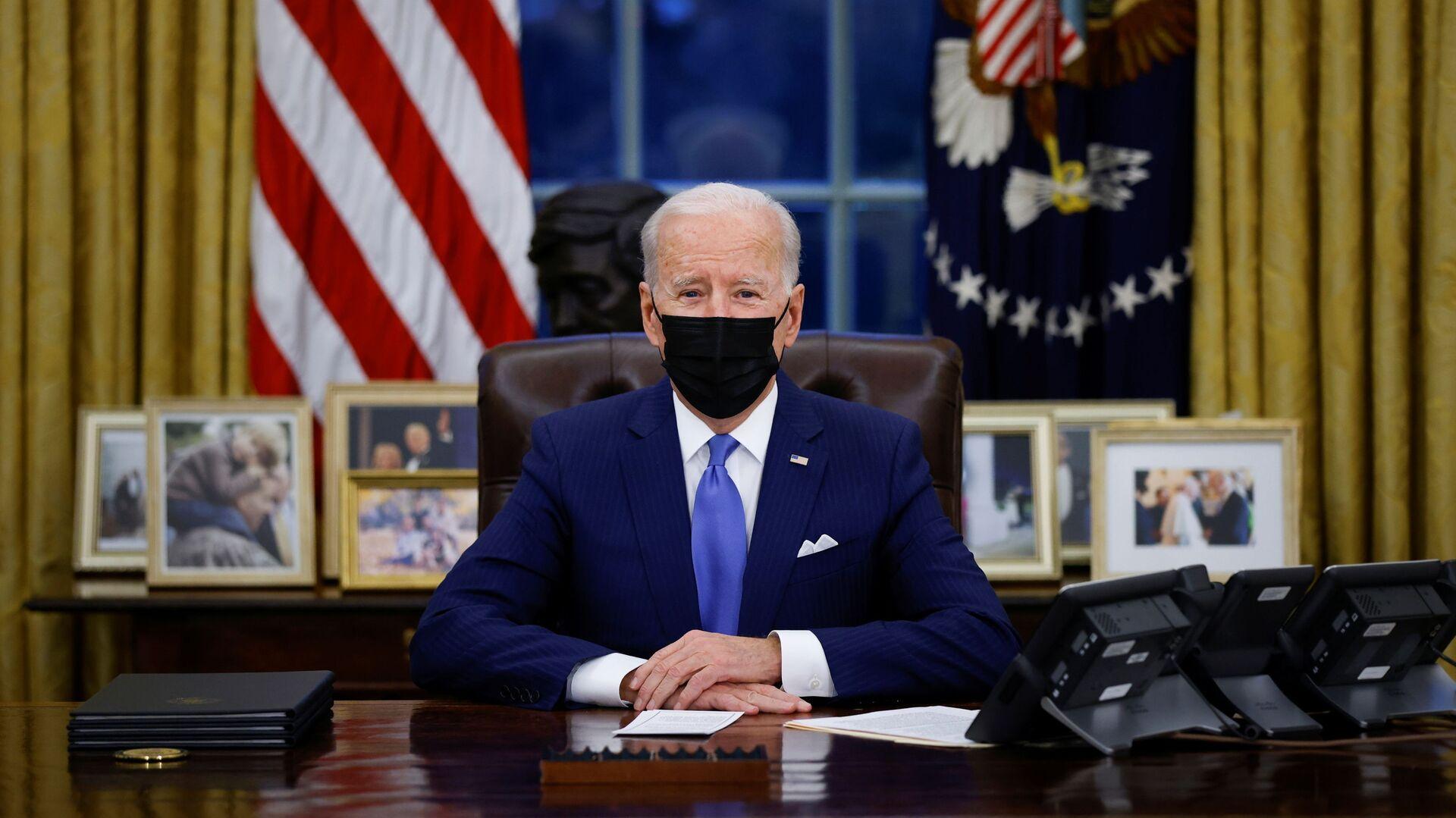 Joe Biden, presidente de EEUU - Sputnik Mundo, 1920, 08.02.2021
