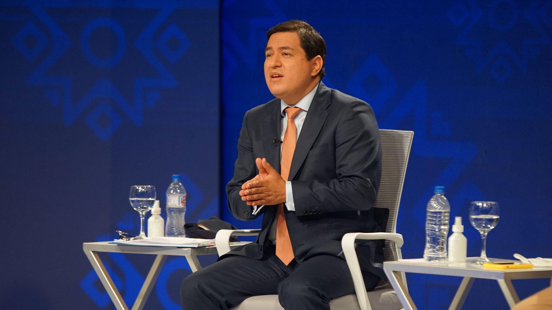 Andrés Arauz, el candidato a presidente de Ecuador - Sputnik Mundo, 1920, 12.02.2021