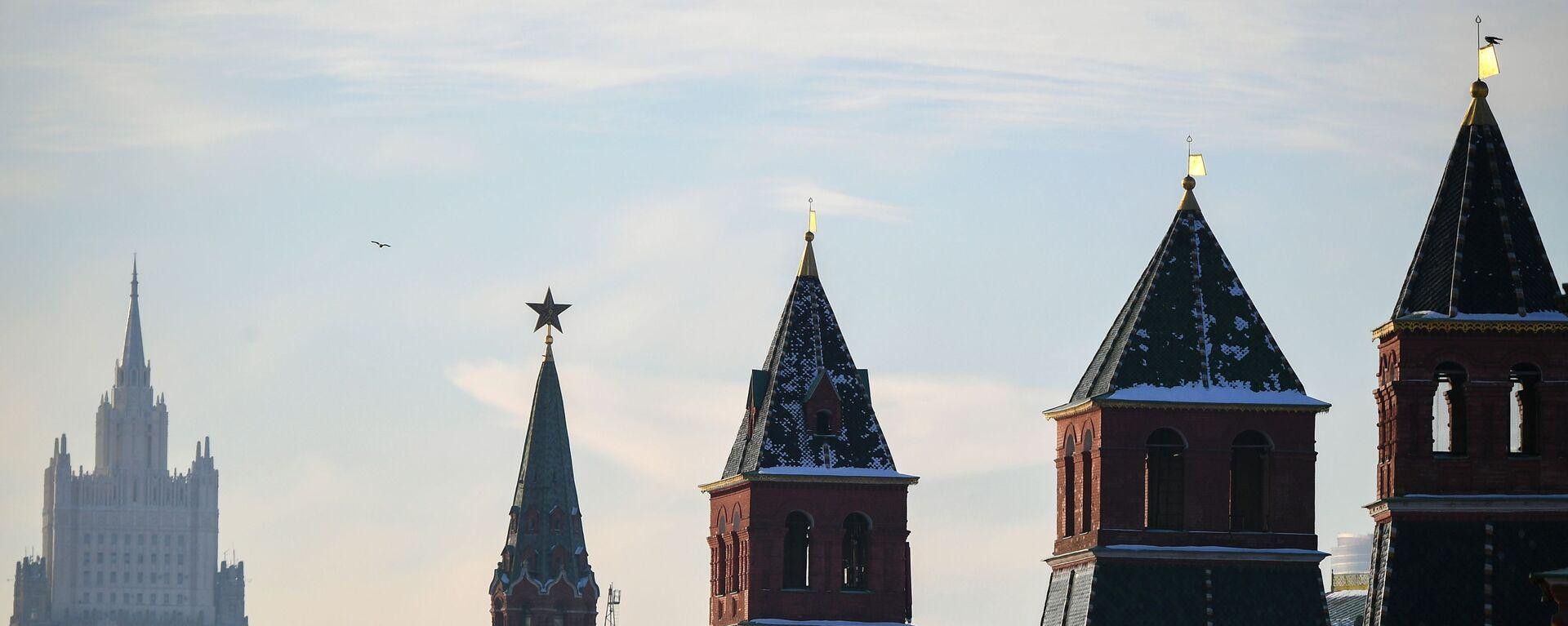 El Kremlin de Moscú, Rusia - Sputnik Mundo, 1920, 03.02.2021
